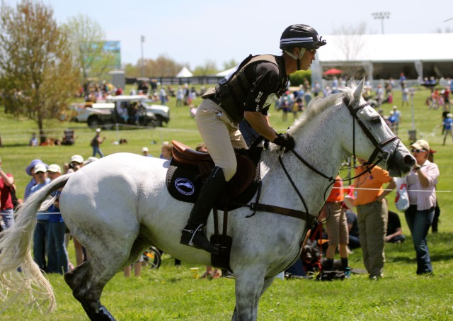 Andrew Nicholson and Avebury at Rolex. Photo by Kasey Mueller.