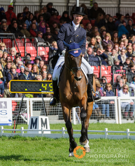 Clark Montgomery and Loughan Glen at Badminton. Photo courtesy of Nico Morgan Photography.