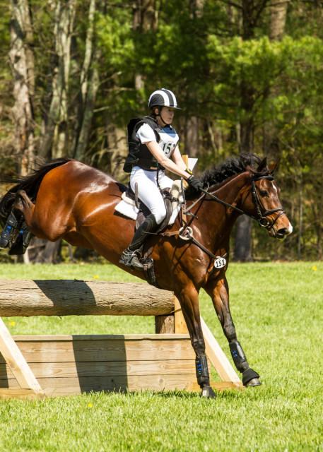 Lisa Saabye and Ebella won the Open Preliminary A division. Photo courtesy of Flatlandsfoto.