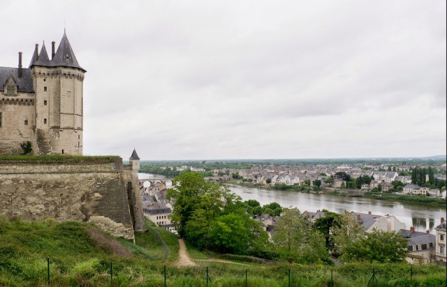 The view from Château de Saumur. Photo by Doug Payne.