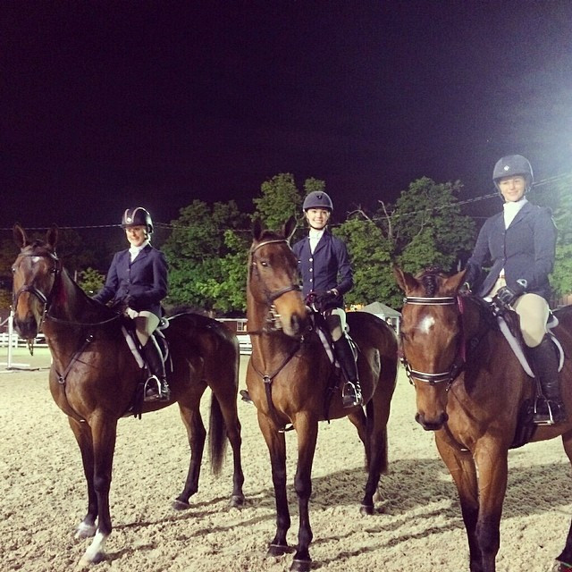 Team Sport Ponies UK at Devon. Photo by Hillary Moses.