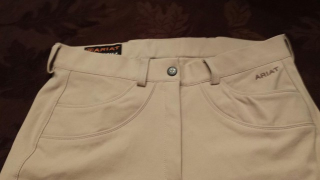 The details are what set the Olympia breeches apart from Ariat's those in their other collections...