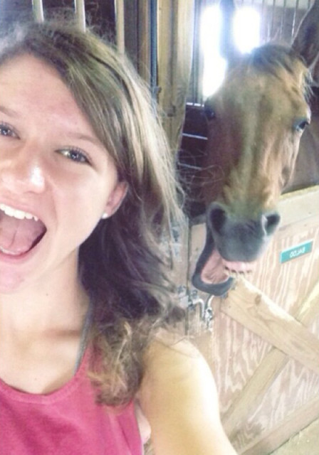 Selfie win!