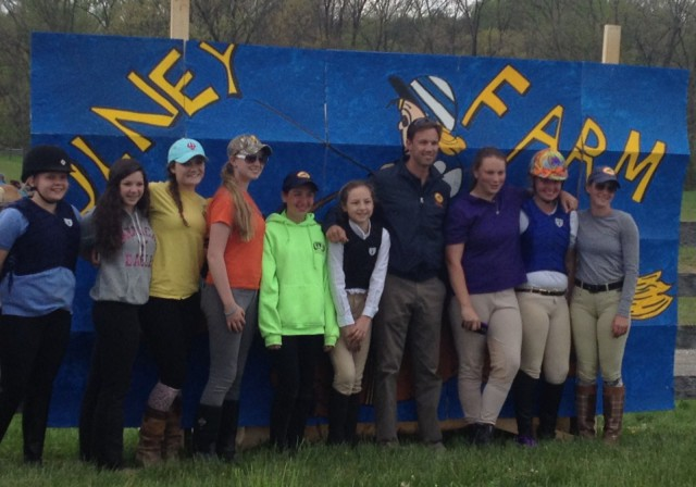 Will Coleman and the Olney Farm clinic attendees on May 5th. Photo submitted by Nara de sa Guimaraes