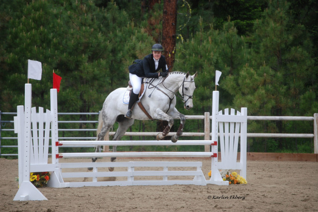 Show jumping at the EI Horse Trials. Photo by Karlin Ekberg.