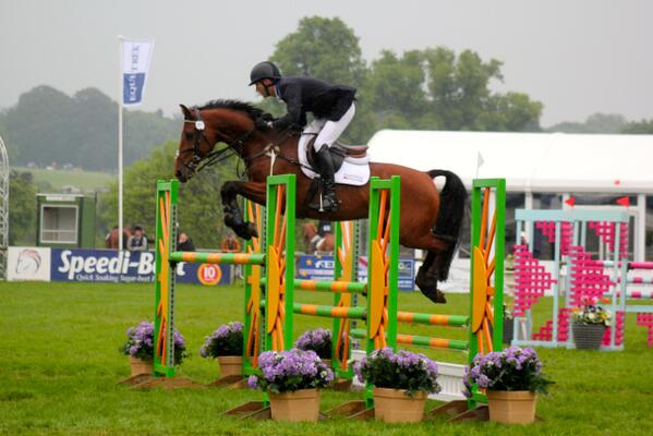 Clark Montgomery and Universe in the Bramham CIC3*. Photo by Samantha Clark via Twitter.