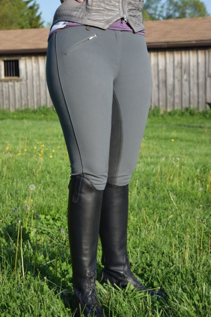 Ovation EuroWeave DX Full Seat Breeches, from the front