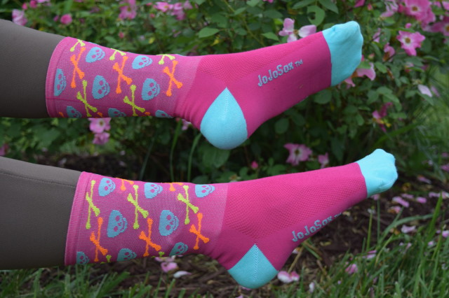 "Neon Colors? Check. Awesome Skull & Bones pattern? Check. Meet the 6"" Sox..."