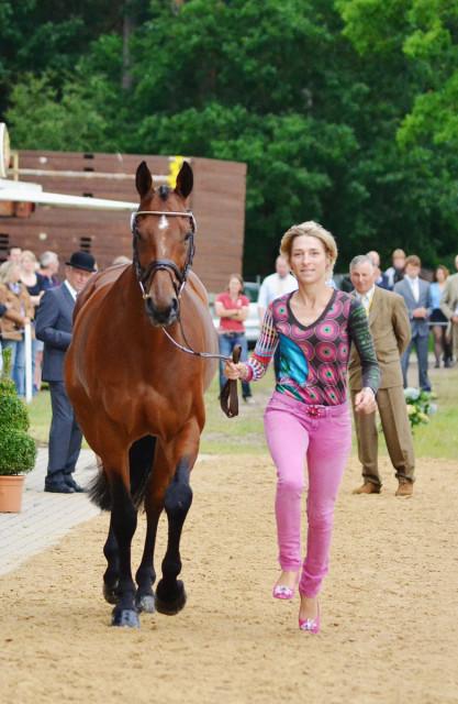 Ingrid Klimke and Horseware Hale Bob. Photo by Jenni Autry.