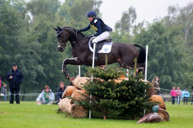 Liz Halliday and Fernhill By Night on course in the CCI3*. Photo courtesy of Samantha Clark/PRO.