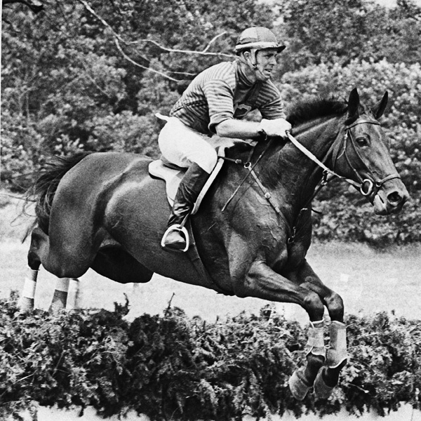 What famous eventing face is shown here? Photo courtesy of USEA Hall of Fame.