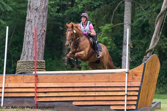 Rebecca Buehler and Brighton win Open Intermediate at AFHT. Photo by Jo Arlow Photography.