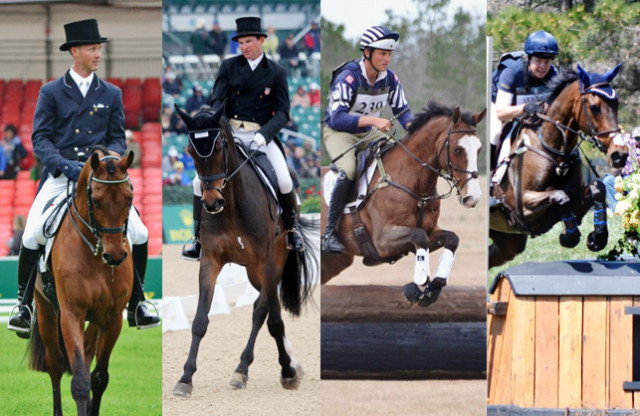 Clark Montgomery, Phillip Dutton, Boyd Martin and Lynn Symansky are all competing in the final three World Equestrian Games selection trials.