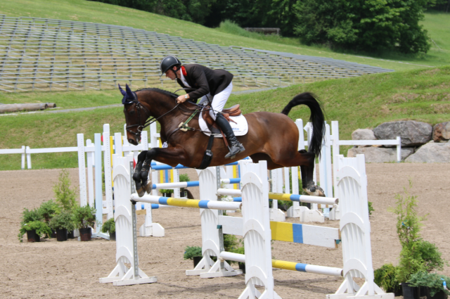 Ryan and Fernhill Classic at Bromont. Photo by Leslie Wylie.