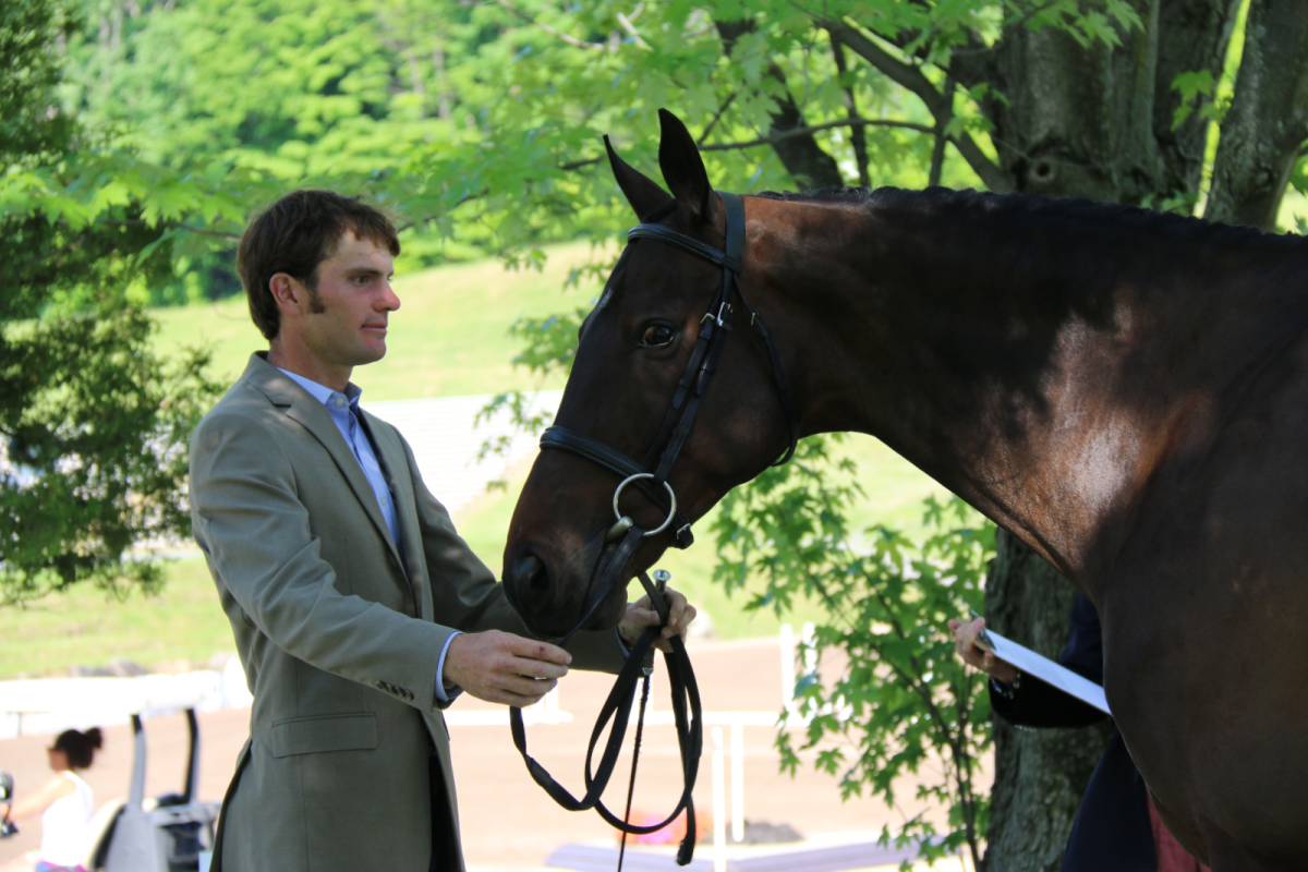 Ryan Wood and Fernhill Classic at the Bromont CCI2*. Photo by Leslie Wylie.