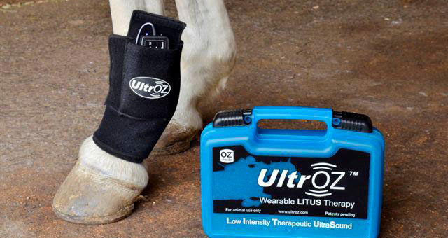 The UltrOZ system is easy to use, and compact for grabbing to take on the go, Photo Provided by Hamilton BioVet
