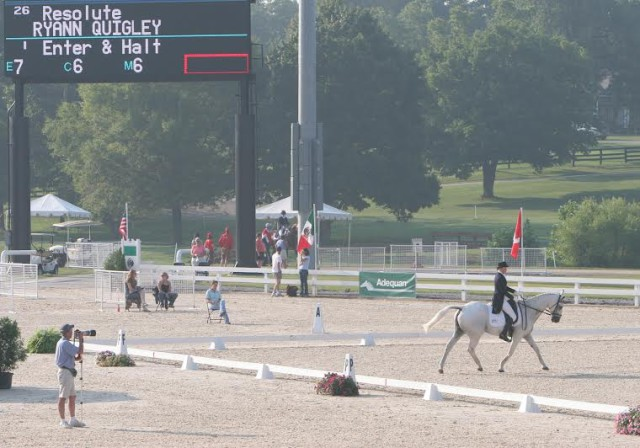 Spike and Ryann at NAJYRC. Photo by Ken Quigley.