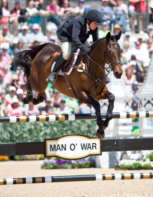 Sally Cousins and Tsunami at Rolex. Photo by Mike McNally.