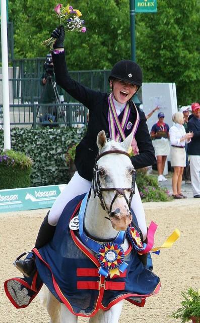 Victory gallop! Photo by Meg Schaeffer.