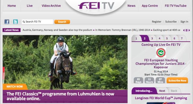 Screenshot via FEI TV