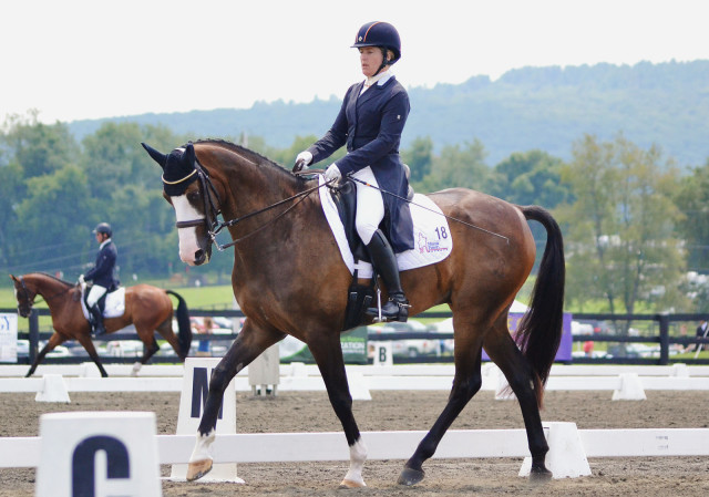 Sharon White and Wundermaske at Millbrook 2014. Photo by Jenni Autry.