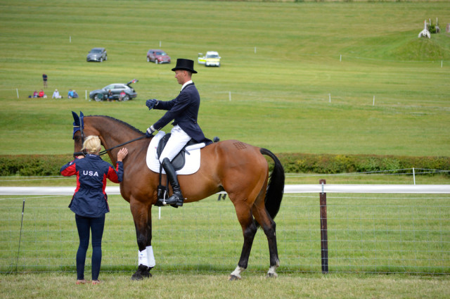 Clark Montgomery and Loughan Glen at Barbury. Photo by Samantha Clark.