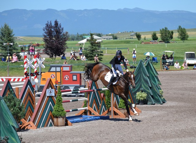 Jordan Linstedt and Revitavet Capato at Rebecca Farms 2014. Photo courtesy of Chesna Klimek.