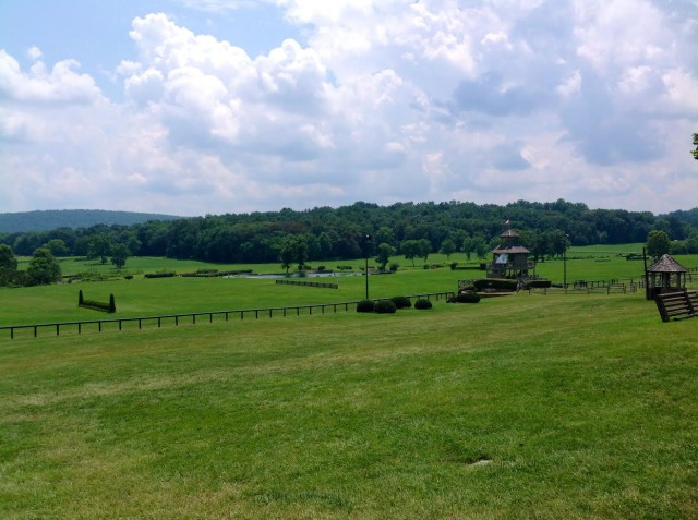 The grounds at Great Meadow looking perfectly prepared for the WEG trials. Photo courtesy of Great Meadow Foundation.