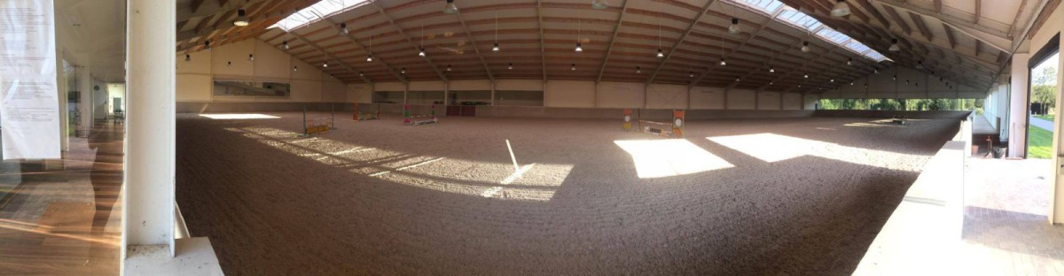 View of the Indoor in Chantilly. Photo courtesy of Liz Storandt.