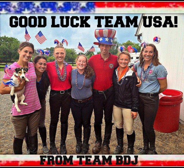 Team BDJ gets in the spirit! Photo submitted by Helene Gallagher.