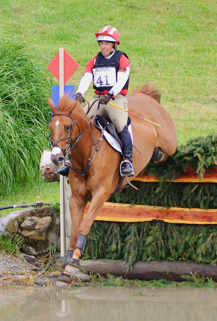Buck Davidson and Copper Beach at Millbrook 2014. Photo by Jenni Autry.