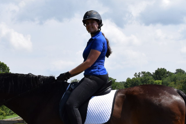 I find that I am a fan of the dropped back hemline of the Riley Polo - Photo by Lorraine Peachey