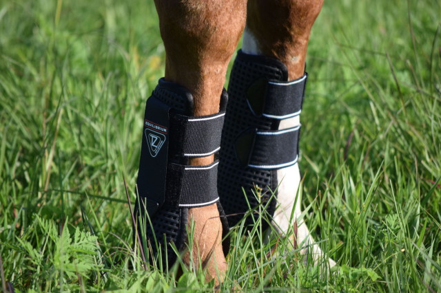 The Airlite Open Front boots are designed to help protect the tendon, by using a polycarbonate inner strip, as well as an TPU strike guard - Photo by Lorraine Peachey