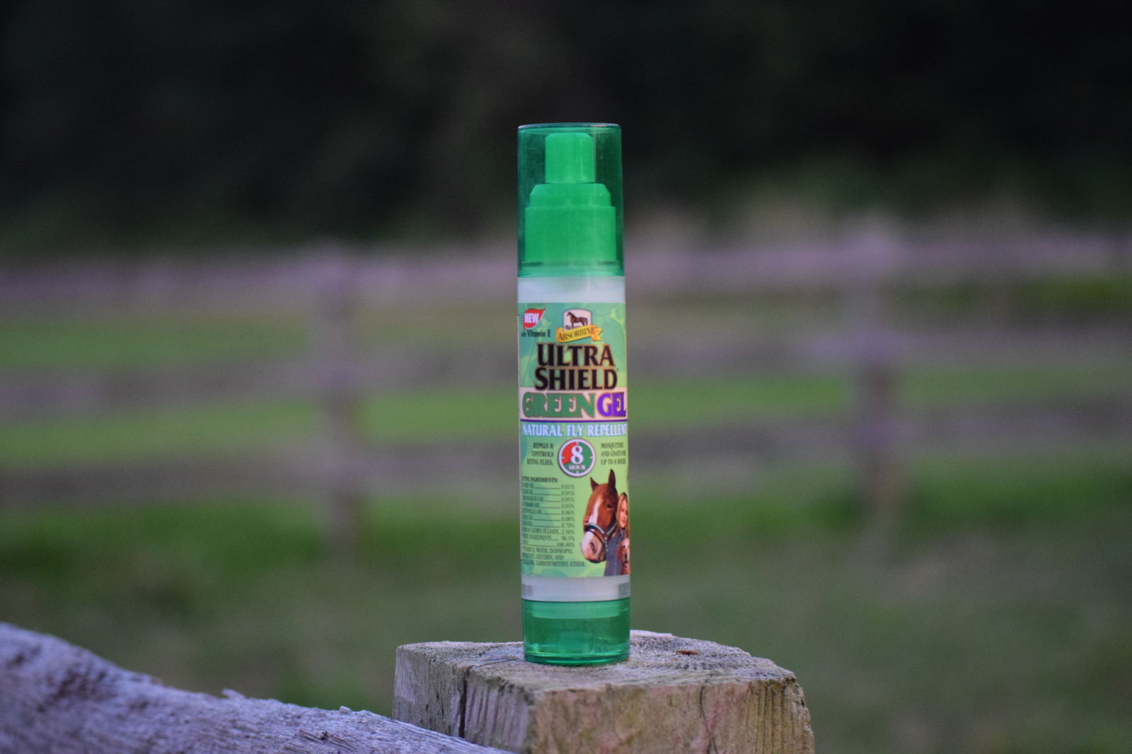 Product Review: Absorbine UltraShield Green Gel Natural Fly