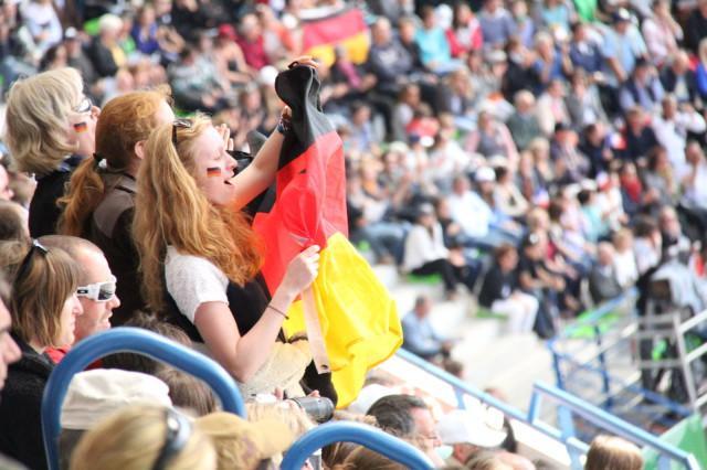 All hail Team Germany! Photo by Leslie Wylie.