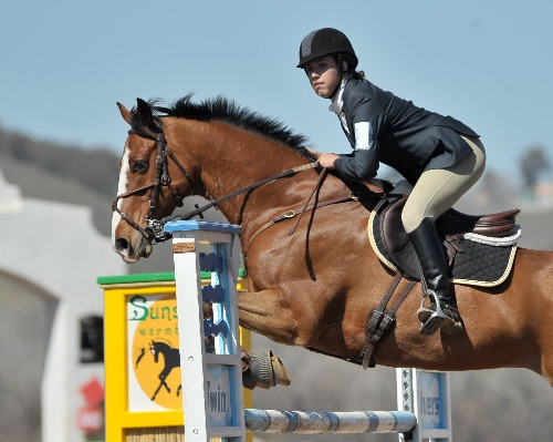 Kaitlin Veltkamp and Flashpoint D at Twin Rivers 2012. Photo courtesy of Sherry Stewart.