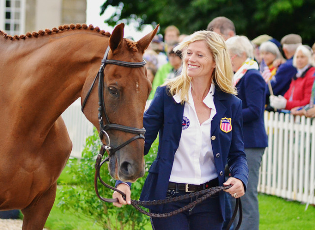 Sinead Halpin and Manoir de Carneville at WEG. Photo by Jenni Autry.
