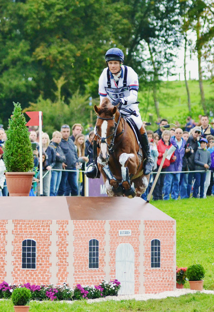William Fox-Pitt and Chilli Morning. Photo by Jenni Autry.