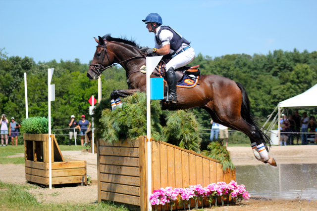Michael Pollard and Mensa at Richland CIC3* in 2013. Photo by Samantha Clark.