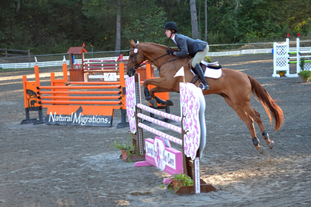 Rebeeca Buehler and Brighton at Aspen Farms Advanced. Photo courtesy of Chesna Klimek.