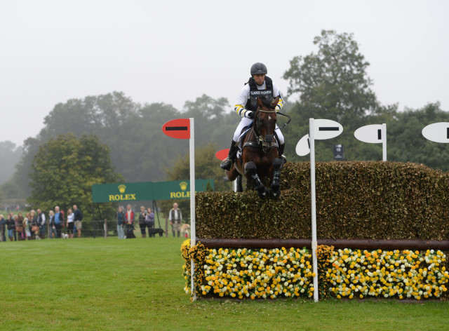 Sam Griffiths and Happy Times. Photo courtesy of ROLEX.