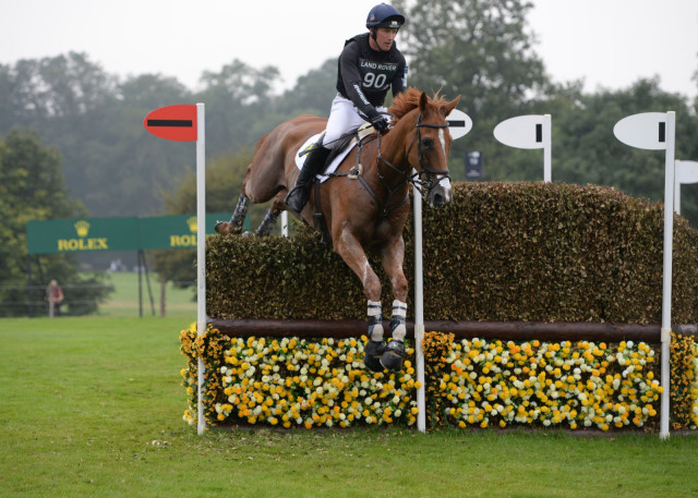 Oliver Townend and Armada. Photo courtesy of ROLEX.