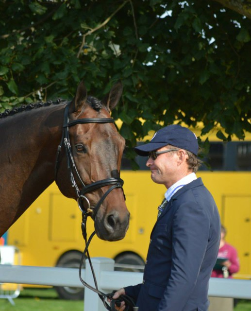 Phillip Dutton and Fernhill Cubalawn. Photo courtesy of Samantha Clark.