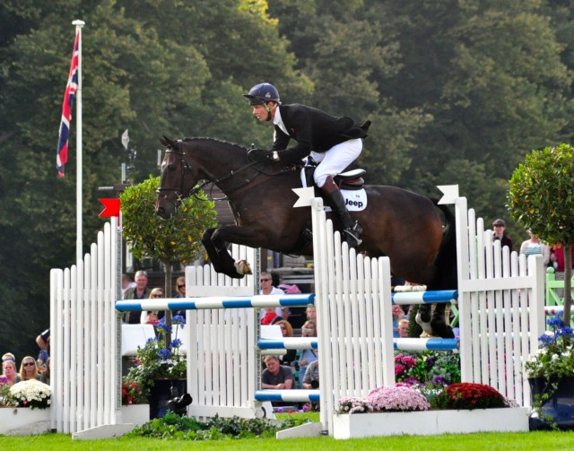 William Fox-Pitt and Bay My Hero at Burghley. Photo by Kate Samuels.