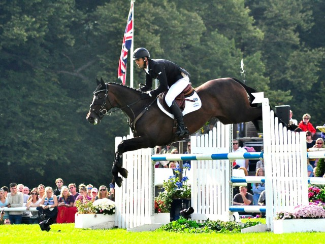 Clifton Promise and Jock Paget jumped a clear round again at Burghley. Photo by Kate Samuels