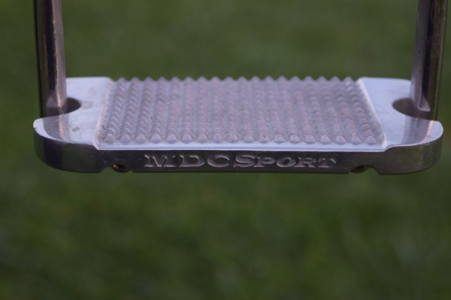 MDC Sport Logo on front side of Sport Classic model Irons - Photo by Lorraine Peachey