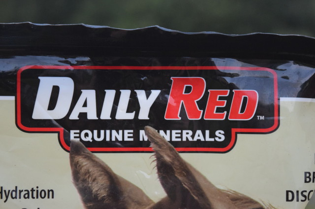 Daily Red comes in a 5lb pouch that is re-sealable - Photo by Lorraine Peachey