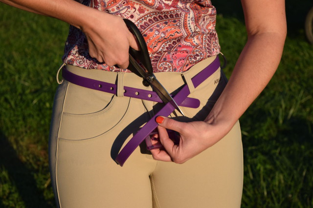 Belts come in a single size, and are generously sized to start out with--and, it is super easy to customize them to fit - Photo by Lorraine Peachey