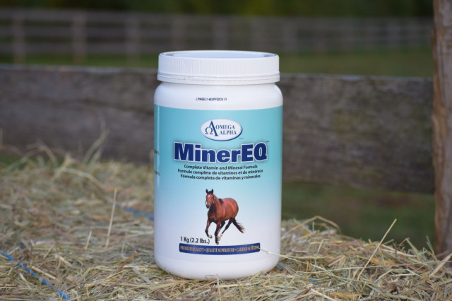 Minereq is a complete vitamin and mineral formula, that comes in a convenient powdered form - Photo by Lorraine Peachey