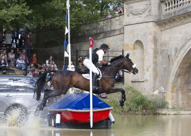 Sam Griffiths riding Happy Times at Burghley last year. Photo by Kit Houghton.